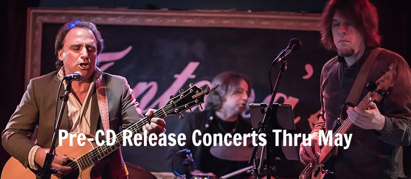 Pre-CD Release Concerts Thru May